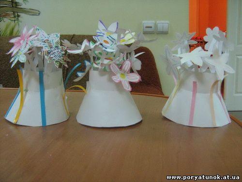 Подарунки на 8 березня в дитячому садку своими руками